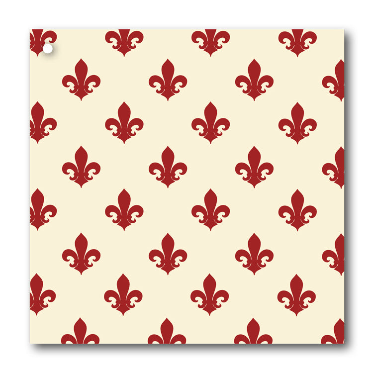 Fleur de Lis Gift Tags from Dormouse Cards