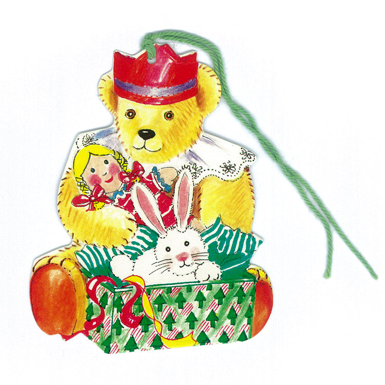 Courtier Teddy Bear Gift Tags from Dormouse Cards
