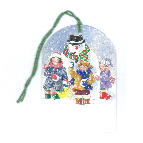 Courtier Snowman Christmas Gift Tags from Dormouse Cards