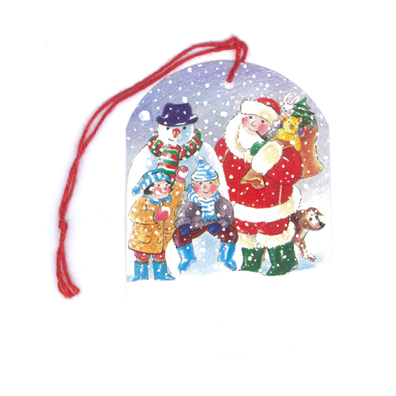 Courtier Snowman & Santa Christmas Gift Tags from Dormouse Cards