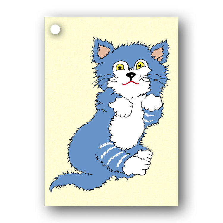 Kitten Gift Tags from Dormouse Cards