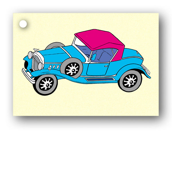 Car Gift Tags from Dormouse Cards