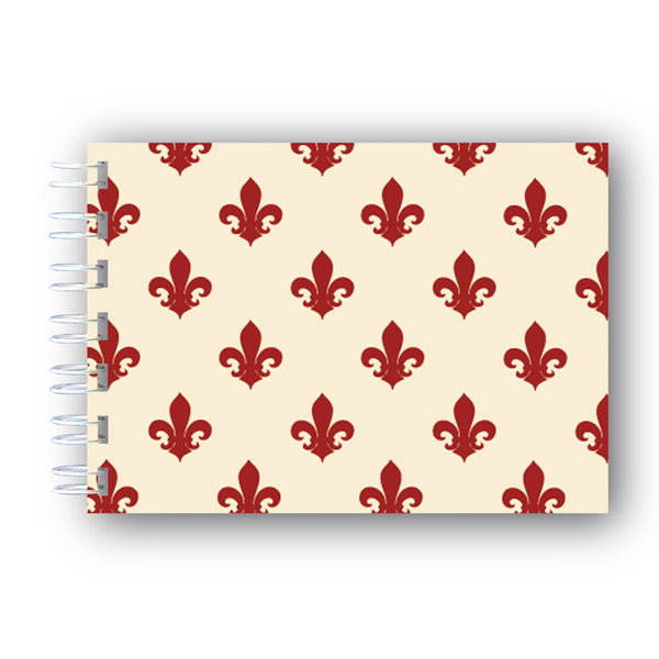 A6 Fleur de List Notebook from Dormouse Cards