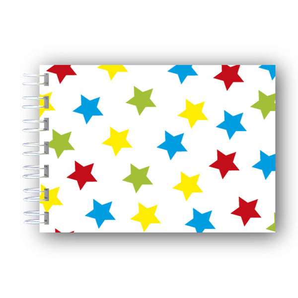A6 Stars Wire Bound Notebook from Dormouse Cards