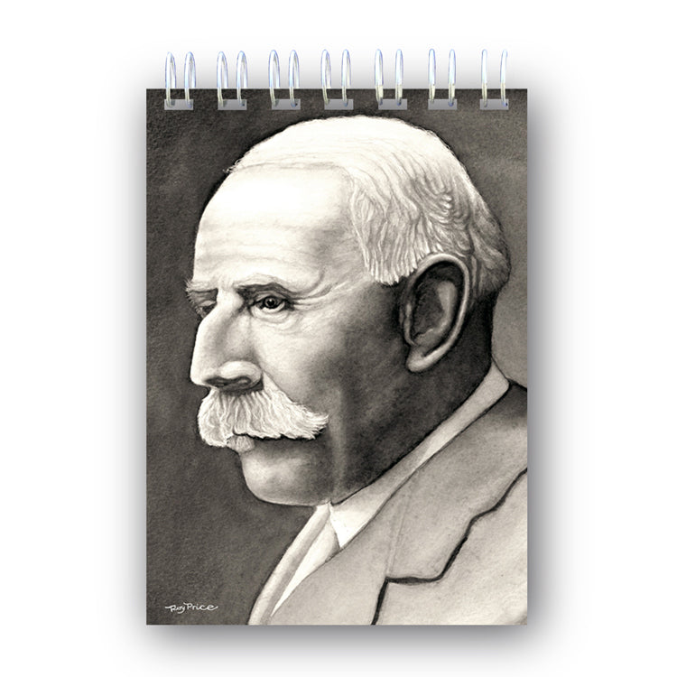 A6 Elgar Wire Bound Notebook from Dormouse Cards