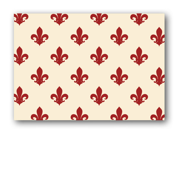 Fleur de Lis Postcards from Dormouse Cards