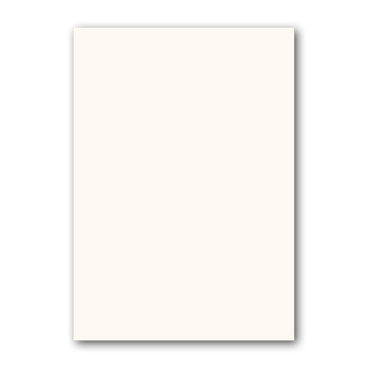 A4 High White Conqueror textured plain notepaper from Dormouse Cards