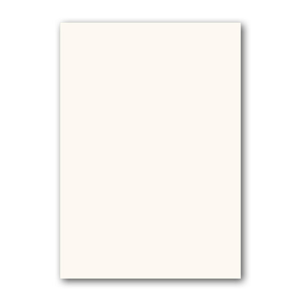 6 5 Plain Notepaper High White Conqueror textured from Dormouse Cards