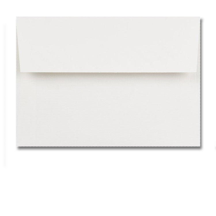 C6 High White Conqueror textured Envelopes from Dormouse Cards