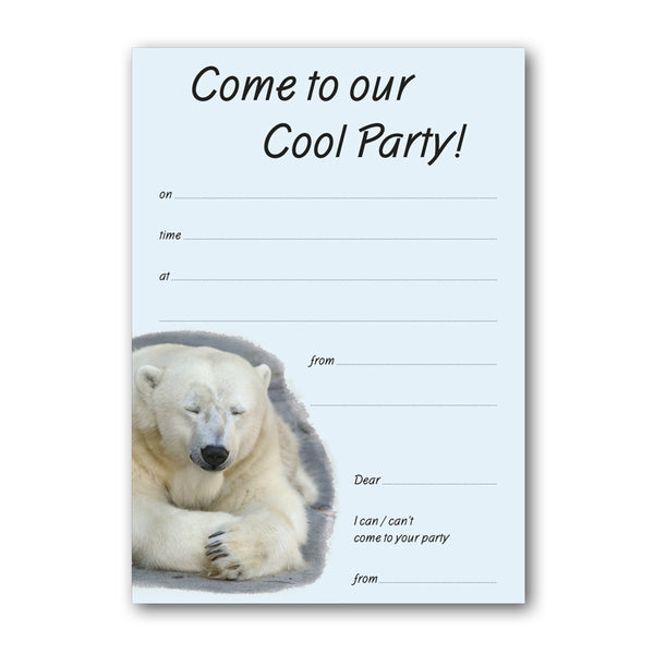 Cool Party Invitations from Dormouse Cards