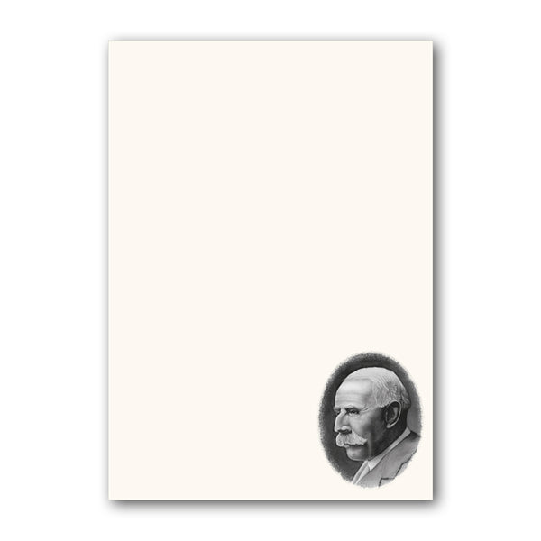 A5 Elgar Notepaper from Dormouse Cards
