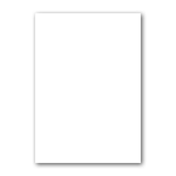 A4 120 gsm Bright White paper from Dormouse Cards