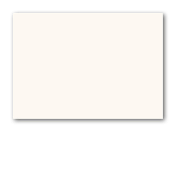 A6 Blank High White Conqueror textured Greetings Cards from Dormouse Cards