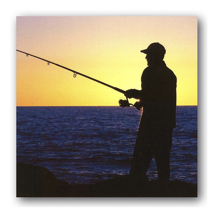 Birthday Father's Day Cards for Men Gone Fishing Dormouse Cards