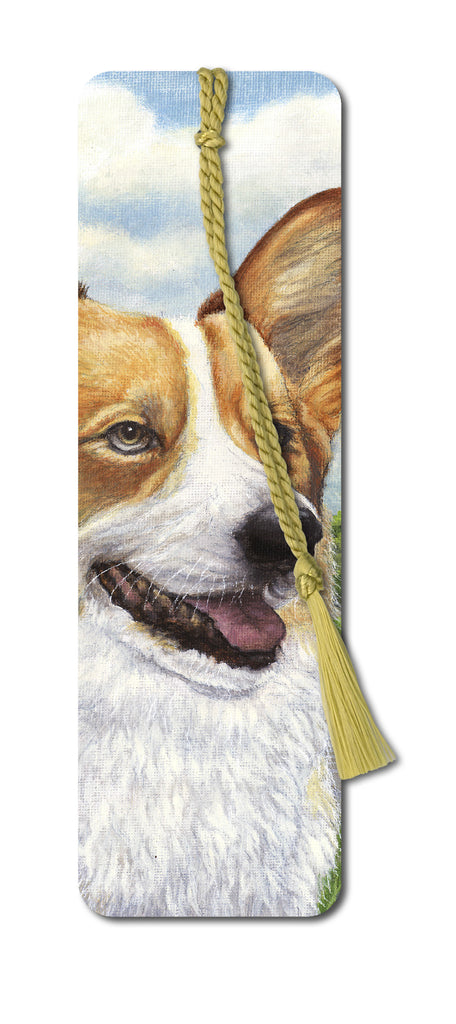Welsh Corgi Bookmark from Dormuse Cards