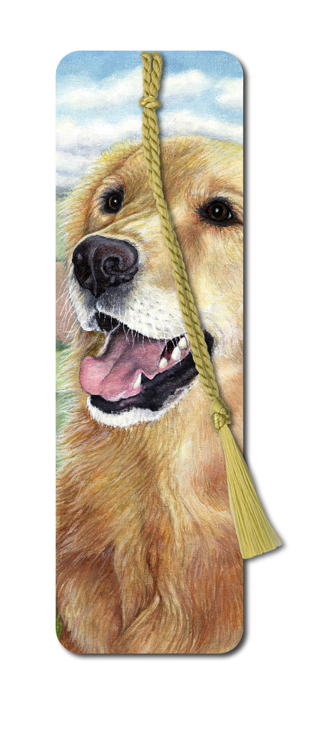Golden Retriever Bookmark from Dormouse Cards