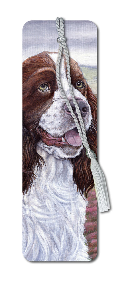 English Springer Spaniel Bookmark from Dormouse Cards