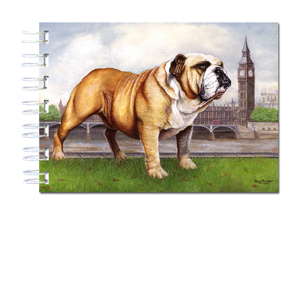 A6 Bulldog Wire Bound Notebook