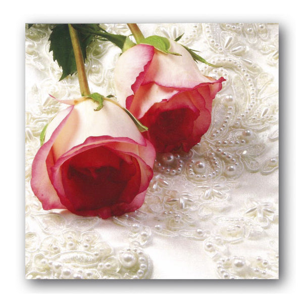 Anniversary Red Roses Greetings Card Dormouse Cards