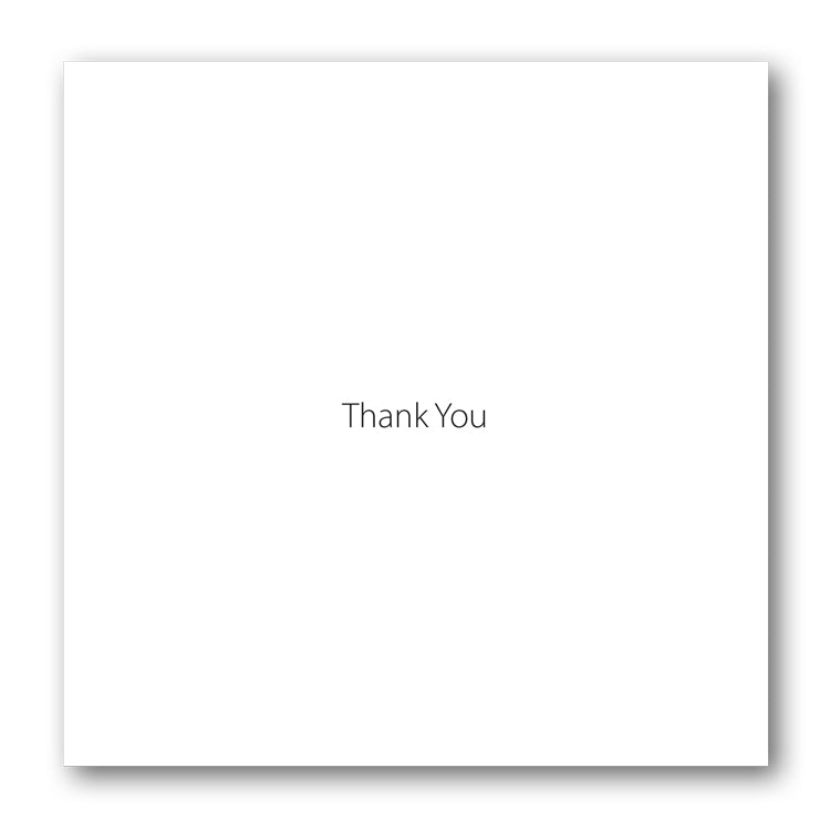 Butterfly Thank You Card from Dormouse Cards