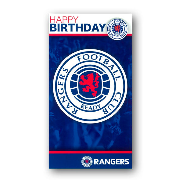 Rangers FC Birthday Card from Dormouse Cards