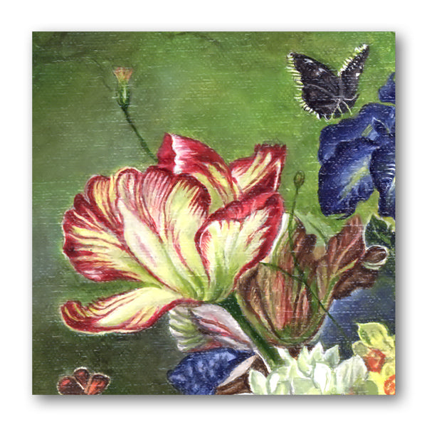 Fine Art Birthday Card Tulip from Dormouse Cards
