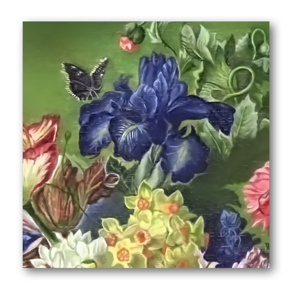 Fine Art Still Life Gift Tags Iris from Dormouse Cards