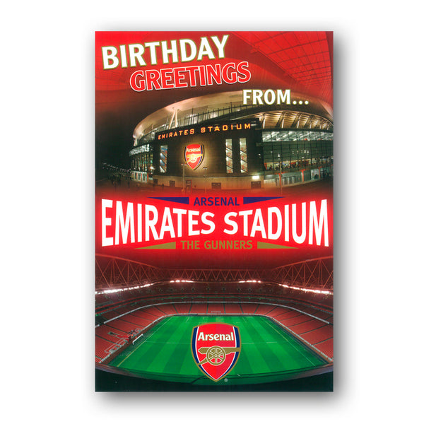 Arsenal 3D Pop-Up Birthday Card from Dormouse Cards