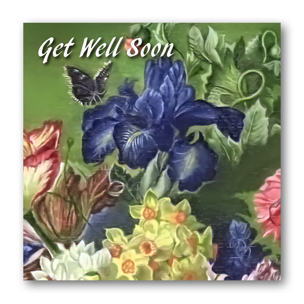 Fine Art Still Life Get Well Soon Card from Dormouse Cards
