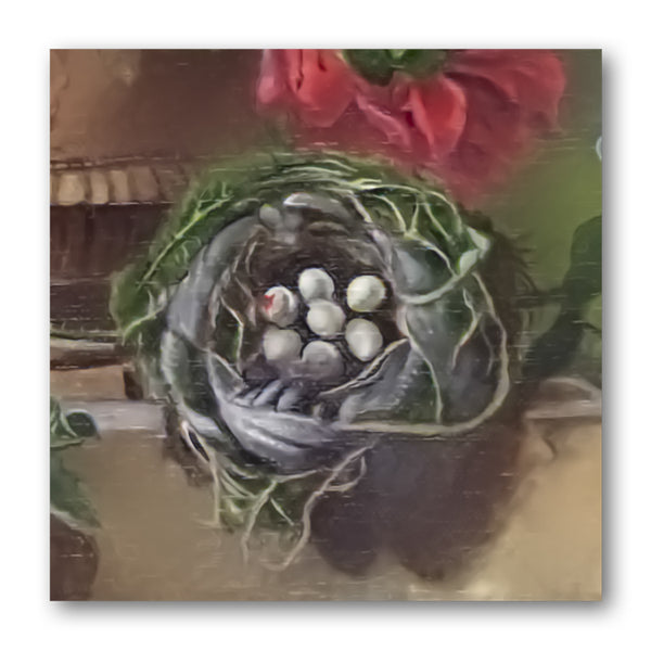 Pack of 10 Fine Art Still Life Gift Tags Bird's Nest from Dormouse Cards