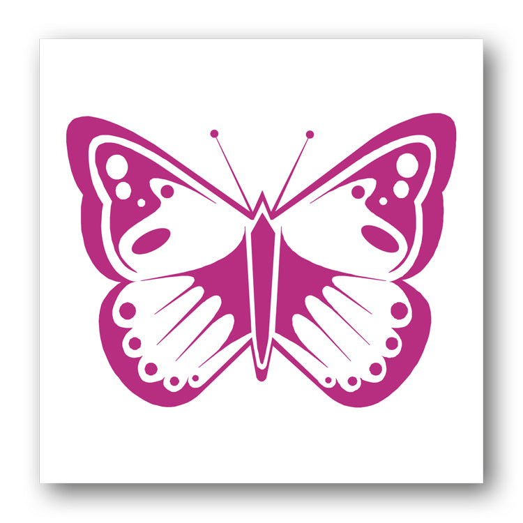 Pink Butterfly Notelets from Dormouse Cards