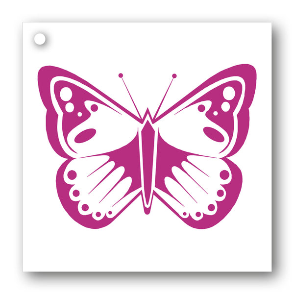 Pink Butterfly Gift Tags from Dormouse Cards