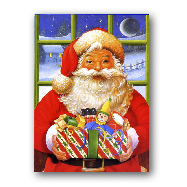 Courtier Santa Christmas Card from Dormouse Cards