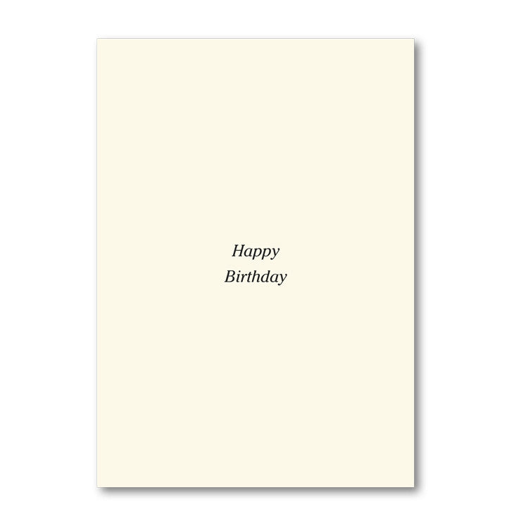 Fine Art Tchaikovsky Birthday Card from Dormouse Cards