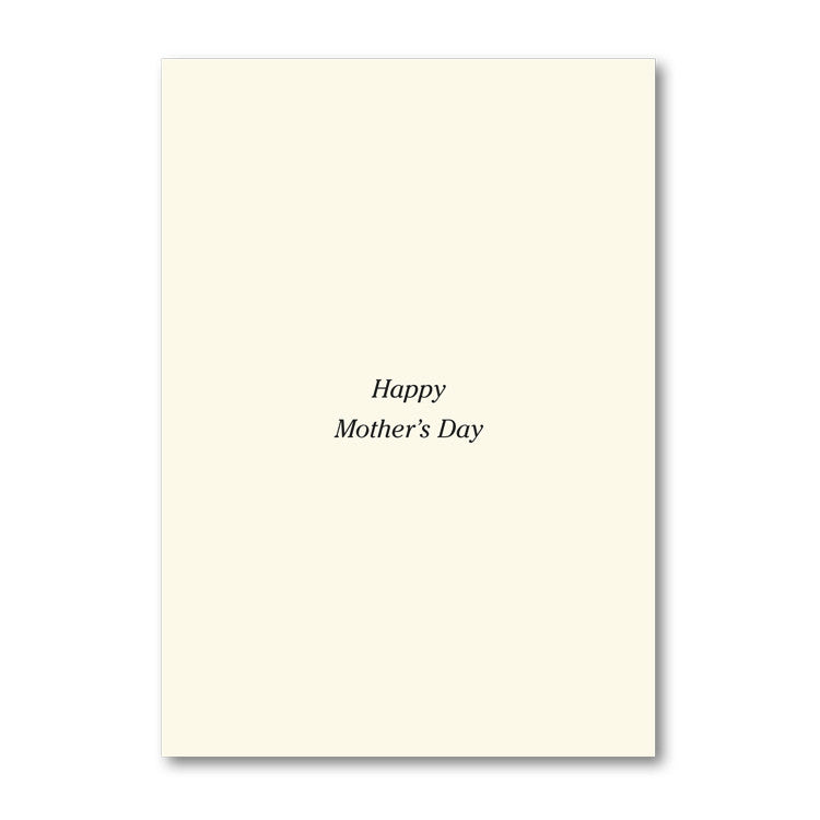 Fine Art Beethoven Mother's Day Card from Dormouse Cards