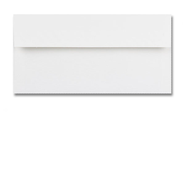DL High White Conqueror Textured Envelopes from Dormouse Cards