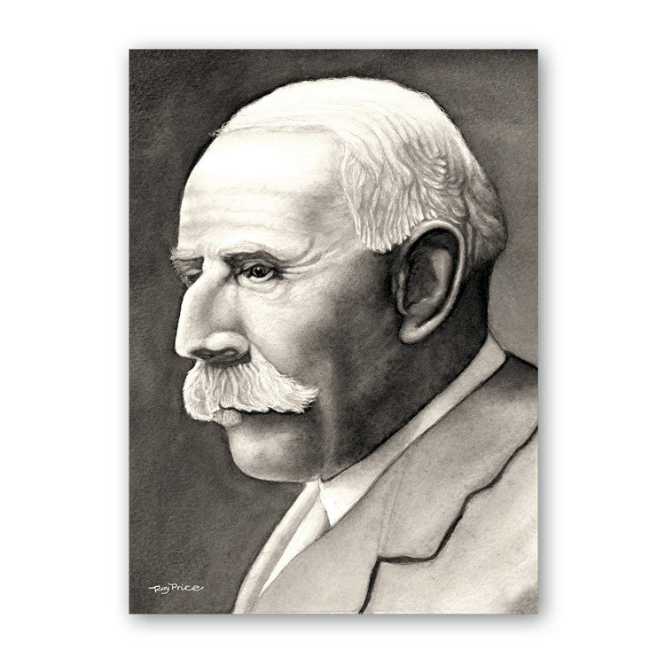 Fine Art Elgar Birthday Card from Dormouse Cards