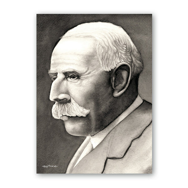 Fine Art Elgar Father's Day Card from Dormouse Cards