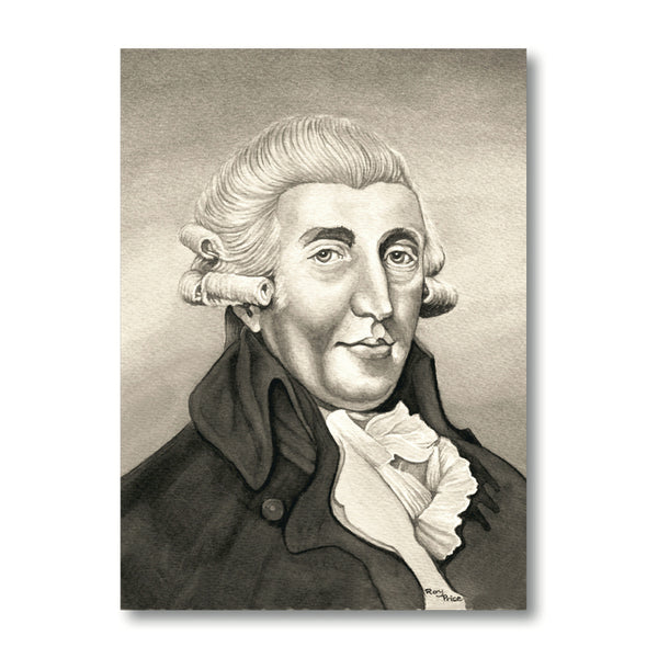Haydn Notelets from Dormouse Cards