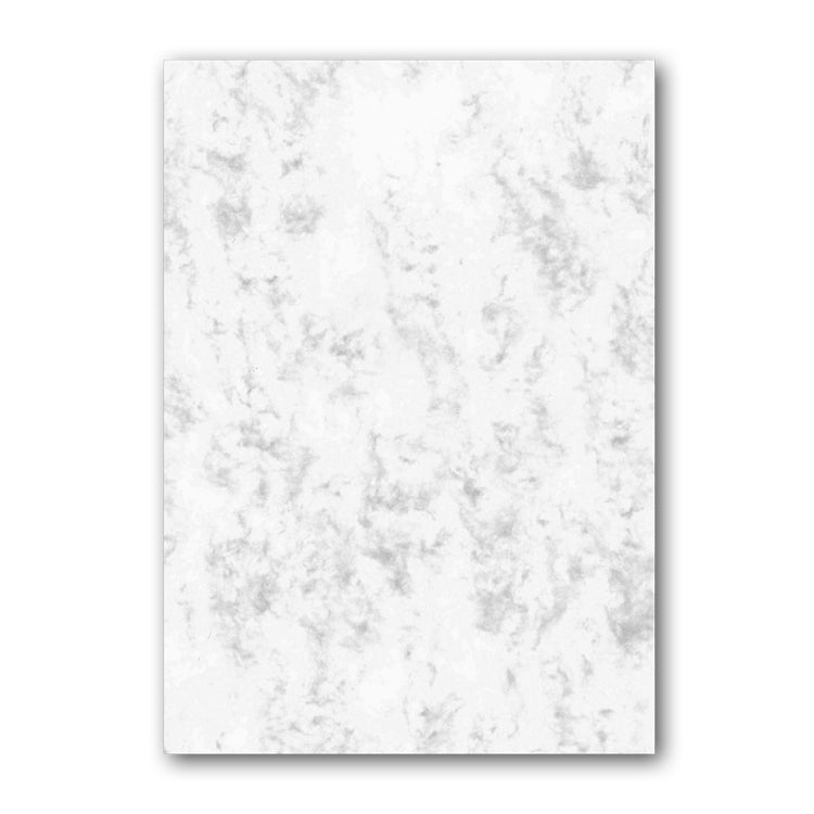 A5 Plain Marble paper supplied with Badger Notepaper from Dormouse Cards