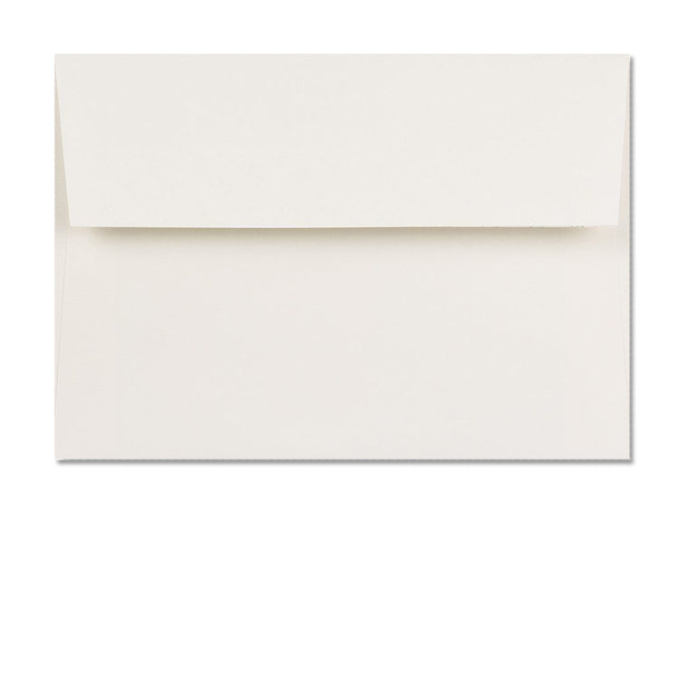 C6 High White Conqueror textured envelopes supplied with blank High White Conqueror textured Greetings Cards from Dormouse Cards