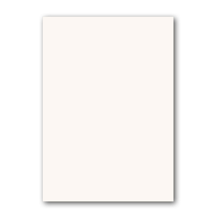 A5 Ivory Plain Sheets supplied with Haydn Notepaper from Dormouse Cards