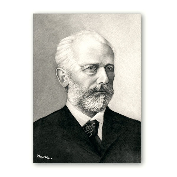 Tchaikovsky Gift Tags from Dormouse Cards