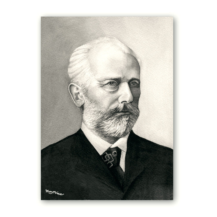 Fine Art Tchaikovsky Mother's Day Card from Dormouse Cards