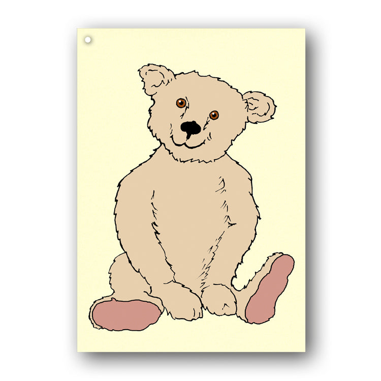 Teddy Bear Gift Tags from Dormouse Cards