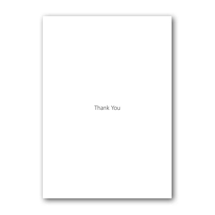 Peregrine Falcon Thank You Card from Dormouse Cards