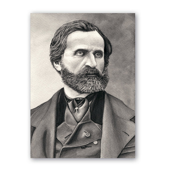 Fine Art Verdi Father's Day Card from Dormouse Cards