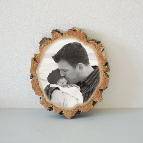 Picture Ornament Picture on Wood Photo Transfer Photo Picture
