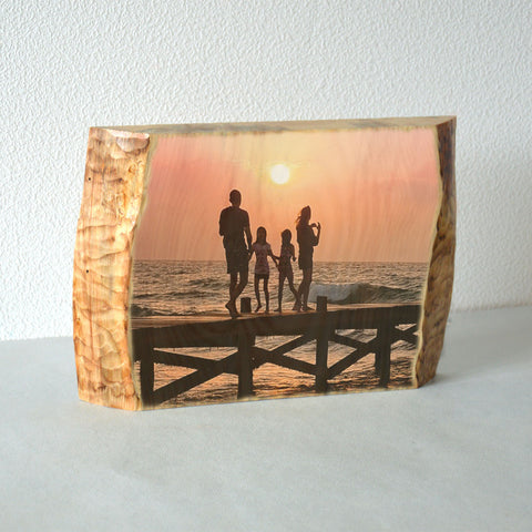 Wooden Photo  Ornament Pictures on Wood Photo Wood Art