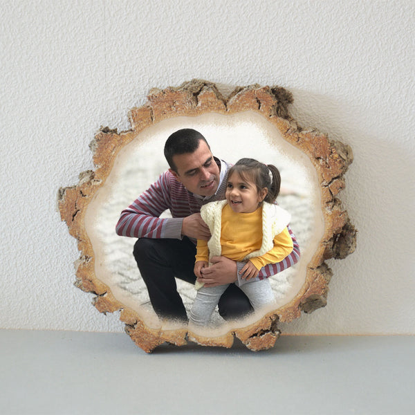 Wooden Gift Wooden Picture Wooden Photo Wood Slice Photo